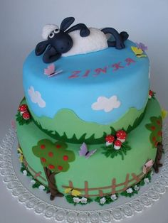 by Katka_RFshaun the sheep cake