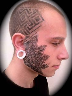 Best Face Tattoos for Women & for Men, Face Tattoos Piercings, Gifts - Piercin.Best Face Tattoos for Women & for Men, Face Tattoos Piercings, Gifts - Piercing for women - Face Tattoos For Men, Facial Tattoos, Best Tattoos For Women, Weird Tattoos, Cool Tattoos For Guys, Trendy Tattoos, Body Art Tattoos, Tattoo Designs, Design Tattoo