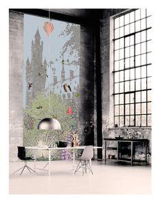 "New wallpaper panel ""Vredespaleis"""