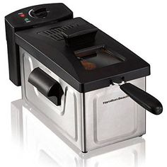 Electric Deep Fryer 2 Liter Fry Basket Counter top Kitchen Cooker Black -- You can find more details by visiting the image link.Note:It is affiliate link to Amazon.