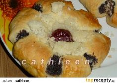 Makové kytičky recept - TopRecepty.cz Cas, Bread And Pastries, Sushi, Muffin, Baking, Breakfast, Ethnic Recipes, Sweet, Food