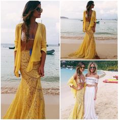 thassia naves look amarelo