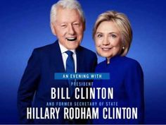 Former U. President Bill Clinton and former Secretary of State Hillary Rodham Clinton will visit Las Vegas at the Park Theater on Nov. Bill And Hillary Clinton, Hillary Rodham Clinton, Chelsea Clinton, Laughter Therapy, Visit Las Vegas, Political Spectrum, Clinton Foundation, Stadium Tour, Former President