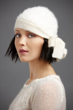 """Love... My sister just saw this pic & said, """"she looks a lot like you... Including the hat!!"""" I will be  definitely be wearing a hat today w/the freezing rain & snow!!!;("""
