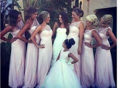 Bridesmaids dresses <3 <3