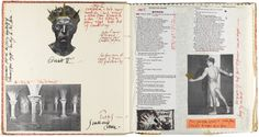 Derek Jarman's sketchbooks