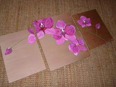 triptyque Orchidée
