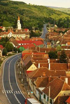 Apoldu de Sus, Sibiu county, Transilvania,  Romania Places Around The World, Around The Worlds, Sibiu Romania, Transylvania Romania, Romania Travel, Little Paris, The Beautiful Country, Beautiful Places To Visit, Countryside