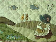 Sunbonnet Sue Patchwork bag by STORY QUILT, via Flickr