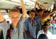 Public transport is part of every Sri Lanka trip. There is no place without bus connection, also to our lodge.