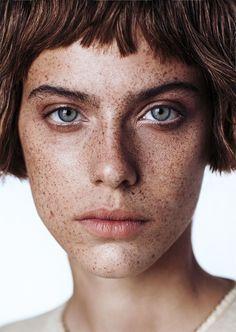 Margot Davy By Krisztian Eder For Models.com - Beauty Twist