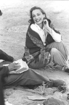 """Desert chic. Kristen Scott Thomas in """"The English Patient."""""""
