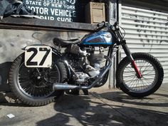 '57 BSA Gold Star rigid Flat Track