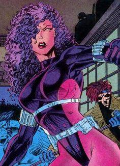 X-Men: Revanche (Kwannon) Comic Books Art, Comic Art, Book Art, Marvel Comics, Marvel Women, Marvel Females, My Superhero, Man Character, Psylocke