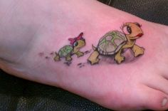 Baby Turtle Tattoos Or this one with two little <b>baby</b> girl <b>turtles</b>  my style ...