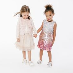 Elevate Your Kid's Outfits With These Metallic Shoes
