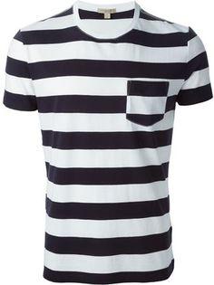 53a158797 Burberry Brit Striped T-shirt - Nike - Via Verdi - Farfetch.com Burberry