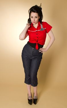 Miss Fortune Greaser Girl Outfit