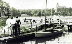 Am Schloßteich in den fünfziger Jahren - chemnitz-gestern-heute.de