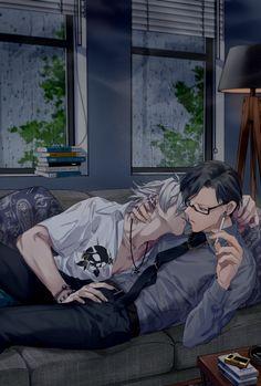 Hot Anime Boy, Rap Battle, Story Inspiration, Let Them Talk, Hot Boys, Anime Couples, Yuri, Fan Art, Manga