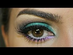 Bright Eye Makeup Tutorial - #makeup #eyetutorial #brighteyes #makeupbycamila - bellashoot.com