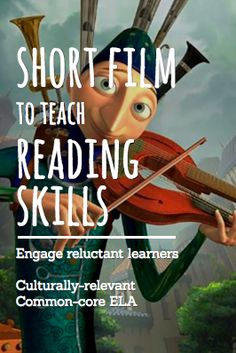 Teach EVERY reading literature and reading informational text common core state standard using inspirational and engaging short films and video clips! For an entire year of highly engaging, no prep… Reading Lessons, Reading Strategies, Reading Activities, Reading Skills, Teaching Reading, Reading Comprehension, Main Idea Activities, Teaching Main Idea, Reading Lesson Plans