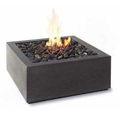 Paloform Bento Modern Square Outdoor Fire Pit | Stardust Modern Design