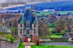 Entered the castle of Carrouge Orne France by hubert61.deviantart.com on @deviantART