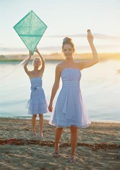 Styles F15243 (left) and F14335 are shown here in Bluebird, but are also available in many other of our gorgeous bridesmaid colors! #davidsbridal #bridesmaiddresses Enter the Style My Maids Sweeps for a chance to win a 500 dollar David's Bridal gift card: http://sweeps.piqora.com/stylemymaids Ends 4/29/13 Rules: http://sweeps.piqora.com/contests/contest/content/davidsbridal.com/178/rules