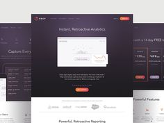 A look at the work we did for Heap. Our task was making analytics–a potentially dry subject–approachable to anyone who's interested in data. We worked with them to extend their current brand onto a...