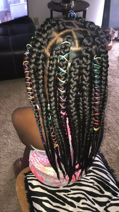 63 Best Kids Box Braids Images In 2019 African Braids