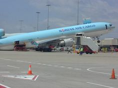 Korean Air Cargo MD11 balance problem