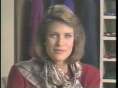 The Art of Scarf Styling - How to Style a Scarf - 25 Easy Ways - 1988 - YouTube