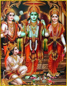 Rama is the incarnation among ten avatars of Lord Vishnu, the supreme god. Shri Ram Photo, Lord Sri Rama, Shri Ram Wallpaper, Ram Image, Lord Rama Images, Ram Photos, Shri Hanuman, Lakshmi Images, Lord Vishnu Wallpapers