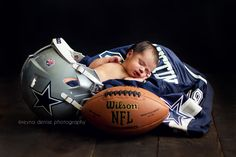 Newborn Football Inspiration