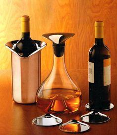 Georg Jensen wine set.