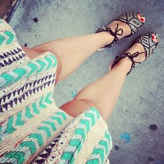 loefflerrandall shoes on Instagrid.me  cool skirt, too