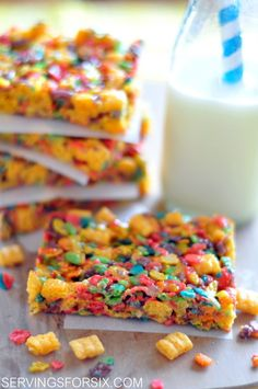 cereal treat bars
