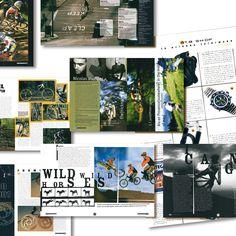 Tutto Mountain Bike restyling rivista grafica creativa impaginazione - fotoritocco