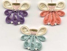 Квиллинг ангелочки, цветочки и другие красивые произведения из бумаги