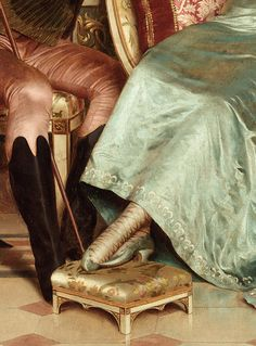 A merry jest by Joseph Soulacroix, 1825 (detail)