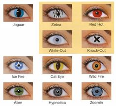 Colored Contacts
