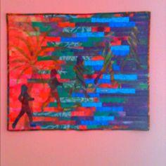 Escape   Art Quilt