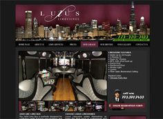 This is a very nice limo website design example with good photos and a lot of SEO friendly content.