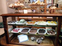 Your sweet tooth will thank you for coming here. Beautiful and delicious chocolates and other sweets!