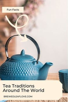 There are so many tea time traditions around the world because tea is loved worldwide.  Find out all about the ways tea is enjoyed around the globe. Tea Benefits, How To Make Tea, Tea Recipes, Drinking Tea, Programming, Tea Time, Beverage, Brewing, Fun Facts