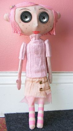 Coraline Doll Pattern. I must make one!