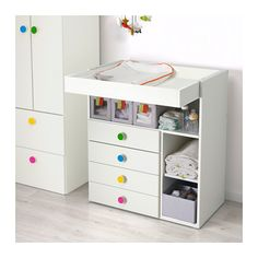 STUVA / FÖLJA Changing table with 4 drawers  - IKEA