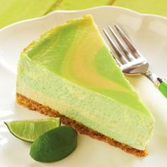 Love cheesecake, love key lime.