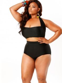 Plus size trendy swimsuits, swimwear from Monif C. - Monif C